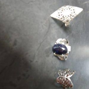Beautiful set of 3 ringd
